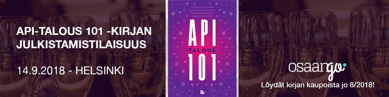 API-talous 101 - kirjan julkistamistilaisuus