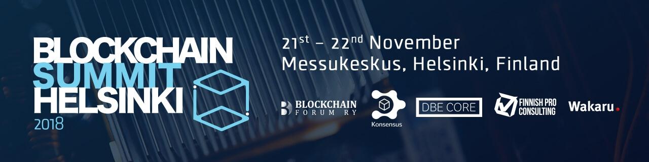 Blockchain Summit Helsinki 2018