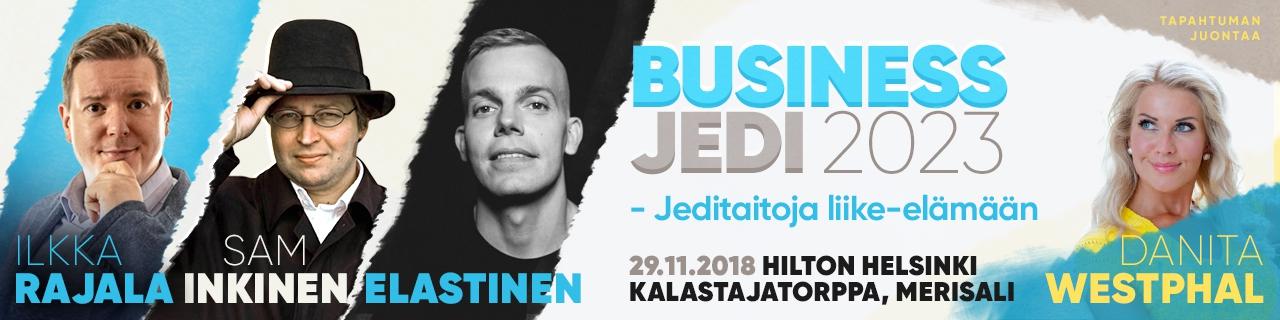 Business Jedi 2023 – Jeditaitoja liike-elämään