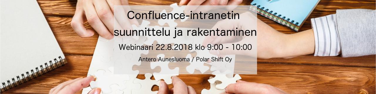 Confluence-intranetin suunnittelu ja rakentaminen