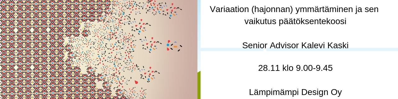 WEBINAARI: Variaation (hajonnan) ymmärtäminen ja sen vaikutus päätöksentekoosi