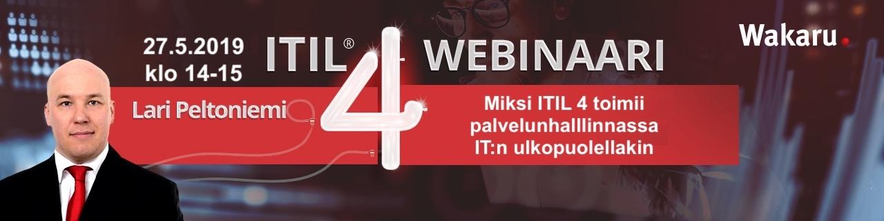 Miksi ITIL 4 toimii palvelunhallinnassa IT:n ulkopuolellakin