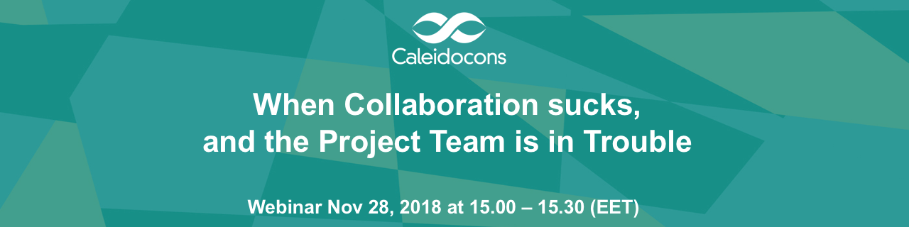 When Collaboration sucks, and the Project Team is in Trouble